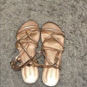 Forever 21 Shoes - NWOT Forever 21 Strappy Sandals